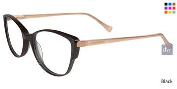 Black Lucky Brand D209 Eyeglasses