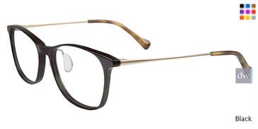 Black Lucky Brand D210 Eyeglasses