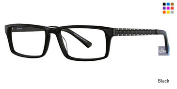 Black Wired 6028 Eyeglasses