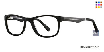 Black/Bray Wired 6035 Eyeglasses