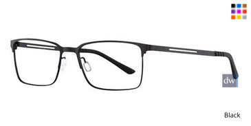 Black Wired 6039 Eyeglasses