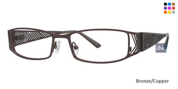 Bronze/Copper Wired LD02 Eyeglasses