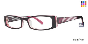 Plum/Pink Wired LD03 Eyeglasses