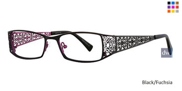 Black/Fuchsia Vavoom 8031 Eyeglasses