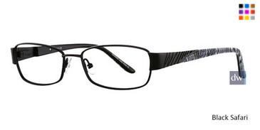 Black Safari Vavoom 8034 Eyeglasses