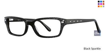 Black Sparkle Vavoom 8041 Eyeglasses