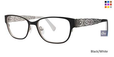 Black/White Vavoom 8044 Eyeglasses