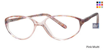 Pink Multi Parade Q Series 1529 Eyeglasses