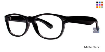 Matte Black Parade Q Series 1717 Eyeglasses