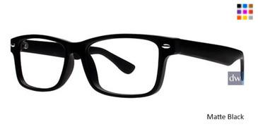 Matte Black Parade Q Series 1718 Eyeglasses.