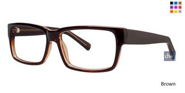 Brown Parade Q Series 1727 Eyeglasses