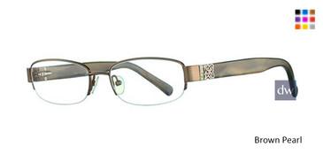 Brown Pearl Avalon 5021  Eyeglasses