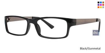 Black/Gunmetal Parade Plus 2111 Eyeglasses
