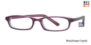 Blue/Grape Crystal Parade 1541 Eyeglasses - Teenager