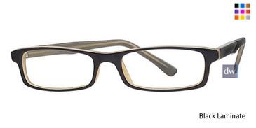Black Laminate Parade 1545 Eyeglasses
