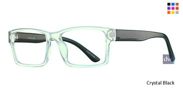 Crystal Black Parade 1587 Eyeglasses