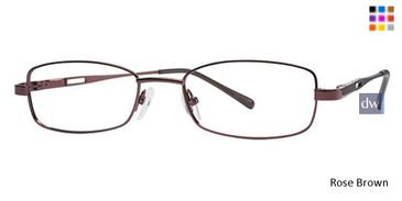Rose Brown Parade 1601 Eyeglasses