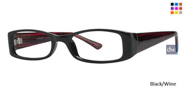 Black/Wine Parade 1701 Eyeglasses - Teenager