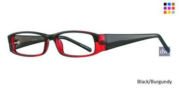 Black/Burgundy Parade 1705 Eyeglasses