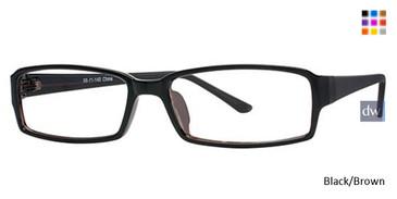 Black/Brown Parade 1707 Eyeglasses