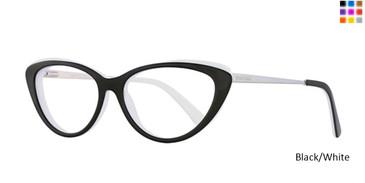 Black/White Romeo Gigli 77012 Eyeglasses