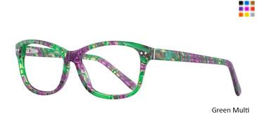 Green Multi Romeo Gigli 77014 Eyeglasses