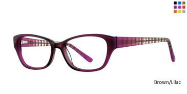 Brown/Lilac  Romeo Gigli 79041 Eyeglasses