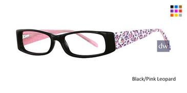 Black/Pink Leopard K12 4068