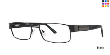 Black Elan 3712 Eyeglasses