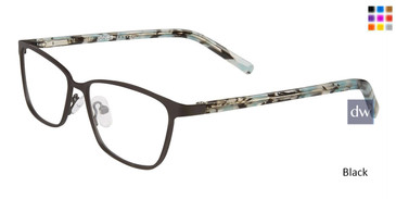 Black Jones New York Petite J146 Eyeglasses - Teenager.