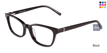 Black Jones New York Petite J228 Eyeglasses.