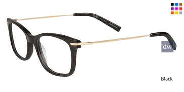 Black Jones New York Petite J232 Eyeglasses.