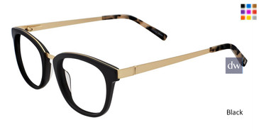Black Jones New York Petite J234 Eyeglasses.