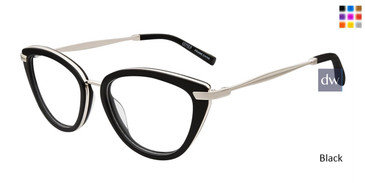 Black Jones New York Petite J235 Eyeglasses - Teenager.