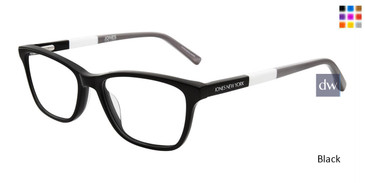 Black Jones New York Petite J236 Eyeglasses - Teenager.