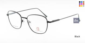 Black CIE SEC315T Eyeglasses.