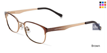 Brown Lucky Kid D703 Eyeglasses.