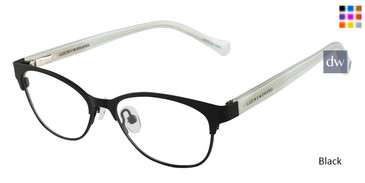 Black Lucky Kid D710 Eyeglasses - Teenager.
