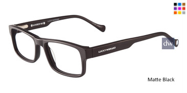 Matt Black Lucky Kid D804 Eyeglasses.