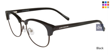 Black Lucky Kid D806 Eyeglasses.