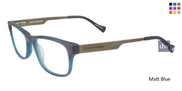Matt Blue Lucky Kid D807 Eyeglasses - Teenager.