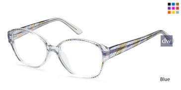 Blue Capri US 84 Eyeglasses.