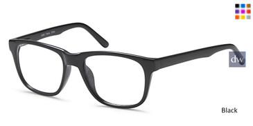 Black Capri US 85 Eyeglasses.