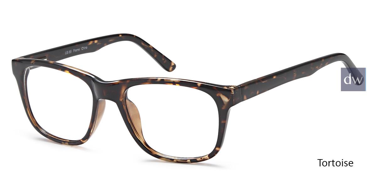 Tortoise Capri US 85 Eyeglasses.