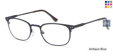 Antique/Blue Capri B786 Eyeglasses.