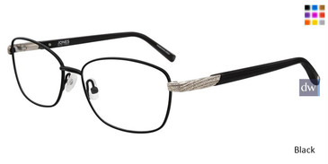 Black Jones New York J487 Eyeglasses