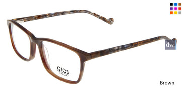 Brown Gios Italia GRF500110 Eyeglasses