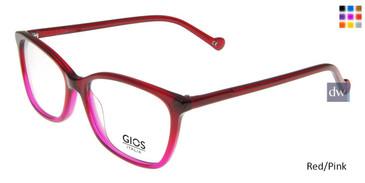 Red/Pink Gios Italia GRF500089 Eyeglasses