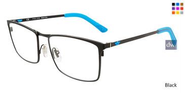 Black Police VPL555 Eyeglasses