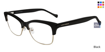 Black Lucky Brand D109 Eyeglasses